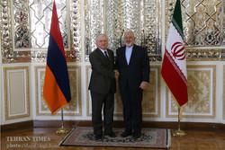 Iranian, Armenian FMs meet in Tehran