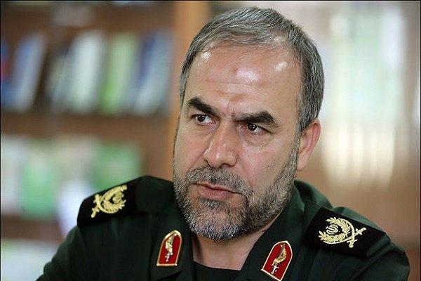 العميد جواني: رسالة الجنرال سليماني الى نظام آل خليفة رسالة إنذار وتهديد