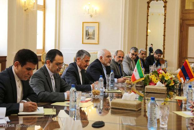دیدار وزرای امور خارجه ایران و ارمنستان