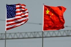 پرچم چین و آمریکا