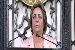 هدیه عباس رئیس پارلمان سوریه