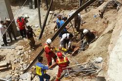گودبرداری ساختمانی در ری ۲ مصدوم بر جا گذاشت