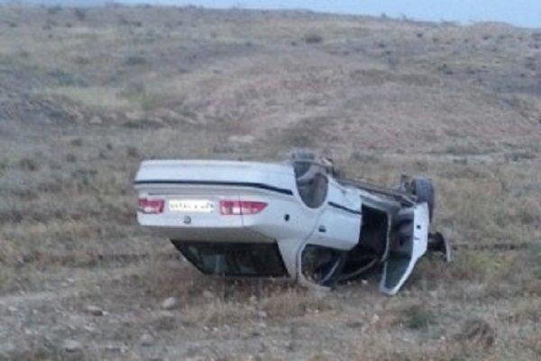 واژگونی خودرو در مهریز ۶ زخمی بر جای گذاشت