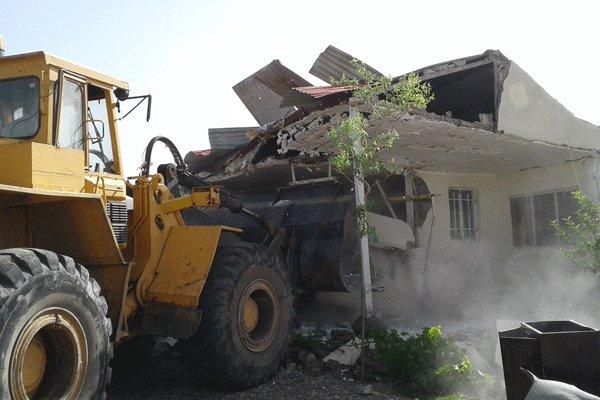 ساخت و سازهای غیر مجاز در دماوند ۲۳ درصد کاهش یافت