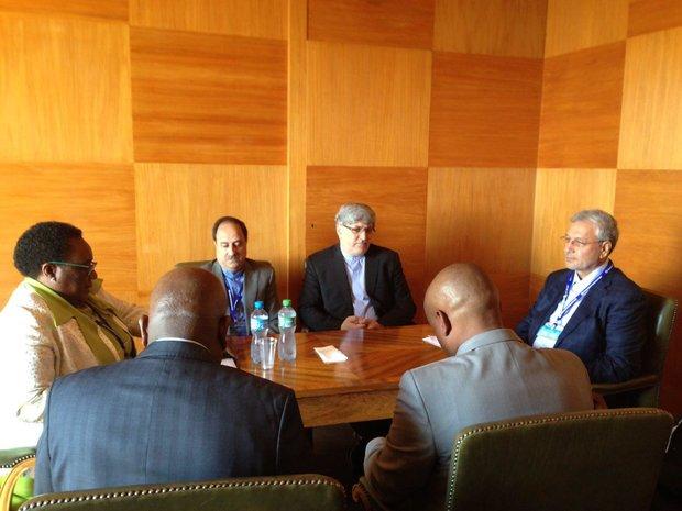 Iranian, S African labor mins. urge boosting ties