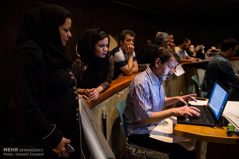 افتتاحیه برنامه هنر ناگهانی