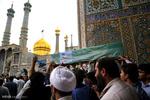 پیکر ۲ شهید مدافع حرم در قم تشییع شد