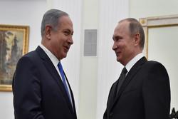 گفتگوی تلفنی پوتین و نتانیاهو درباره مسائل خاورمیانه و همکاری های دو جانبه