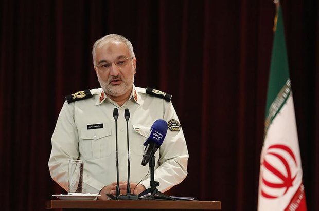 Iran responsible for over 70% drugs busts in world: police chief