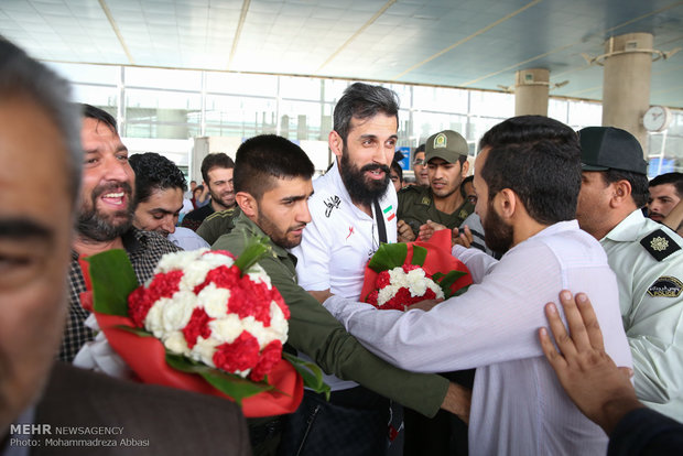 Iran volleyball team 'bring home the bacon'
