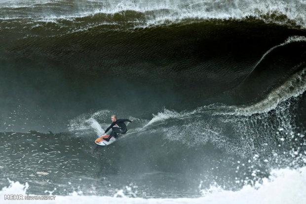 موج سواری در سواحل سیدنی