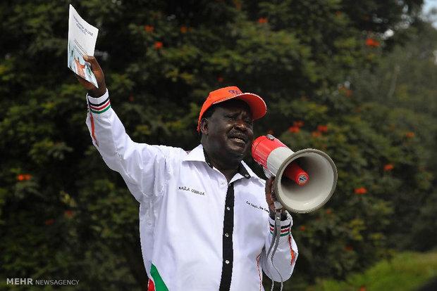 تظاهرات خشونت بار در کنیا