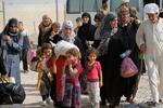 آوارگی بیش از ۱۰ هزار شهروند موصل از آغاز عملیات آزادسازی