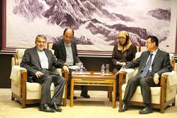 دیدار رئیس کتابخانه ملی ایران با وزیر فرهنگ چین