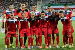 İran ve Kırgızistan Futbol Maçı