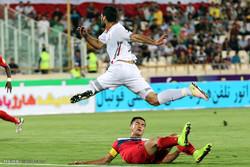 دیدار تیم های ملی فوتبال ایران و قرقیزستان