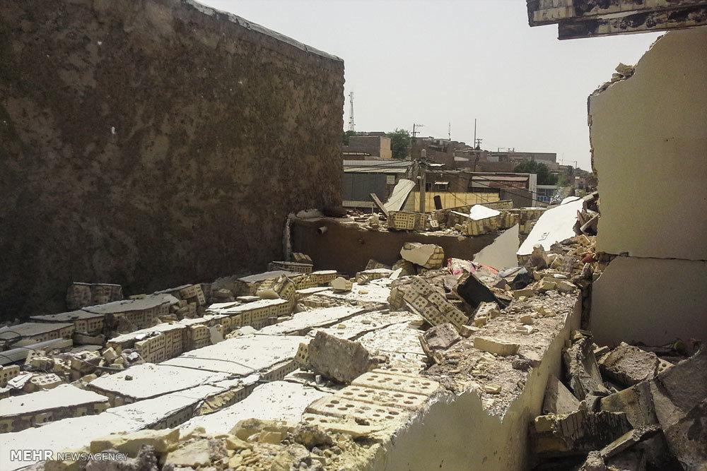 وقوع یک انفجار در منطقه منبع آب اهواز