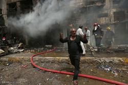 24 قتيلا وجريحا بتفجير انتحاري داخل جامع غرب بغداد