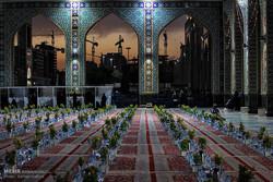 حضرت امام رضا (ع) کے حرم میں افطار کا اہتمام