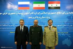 İran-Rusya-Suriye Savunma Bakanları Üçlü Toplantısı