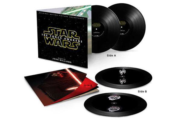 صفحه های هولوگرامی موسیقی «جنگ ستارگان» رونمایی شد