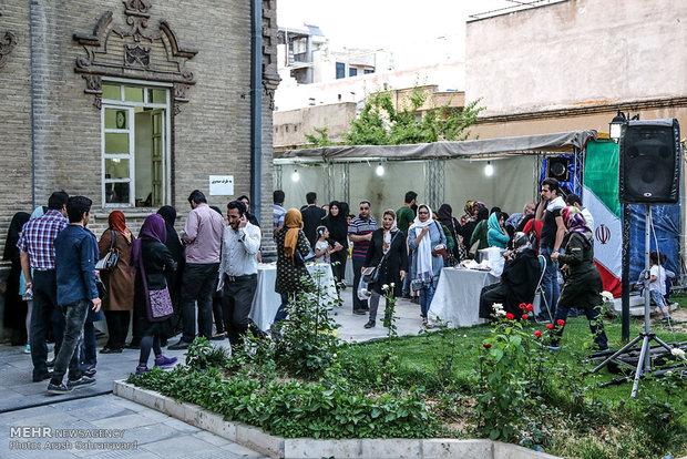 تصاویر جشنواره غذاهای نذری افطار در اراک