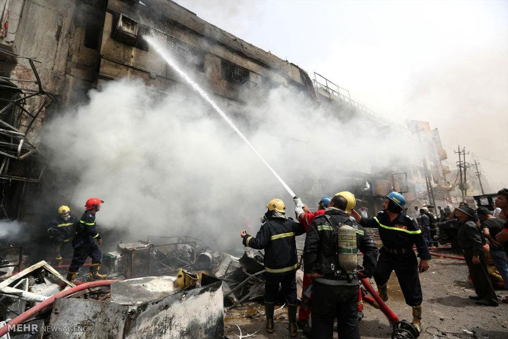 حملات انتحاری در بغداد