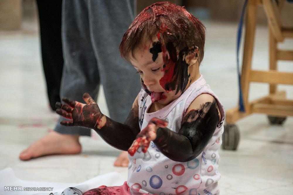 جشن رنگ در کنار کودکان کهریزک