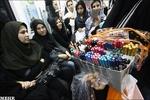 درآمد میلیونی دست فروشان در بازار پر رونق مترو