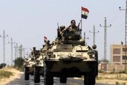 کشته شدن ۵ نظامی مصر در شمال سینا