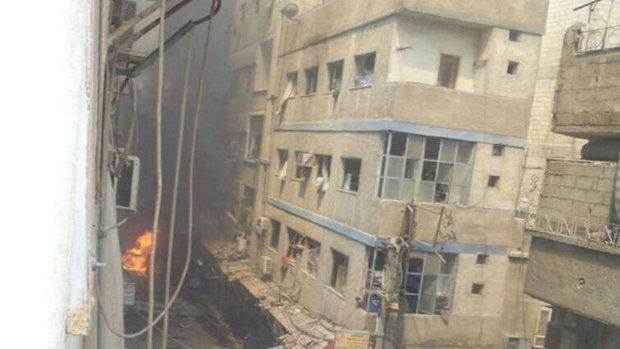 قتلى وجرحى خلال تفجيرين إرهابيين في السيدة زينب بدمشق