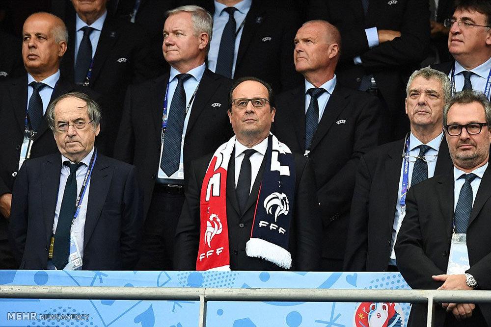 مباراة فرنسا ورومانيا في افتتاح بطولة كأس اوروبا