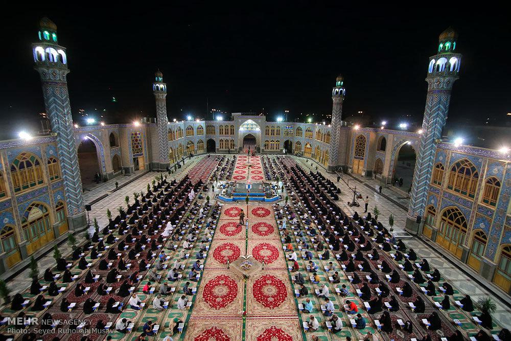 آیین جزءخوانی قرآن کریم در امامزاده محمد هلال بن علی علیه السلام