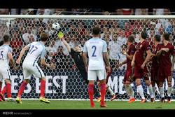 مشاهد من مباراة انجلترا وروسيا في كأس اوروبا