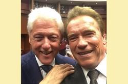 سلفی کلینتون و آرنولد
