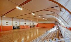 سالن ورزشي حاشيه شهر