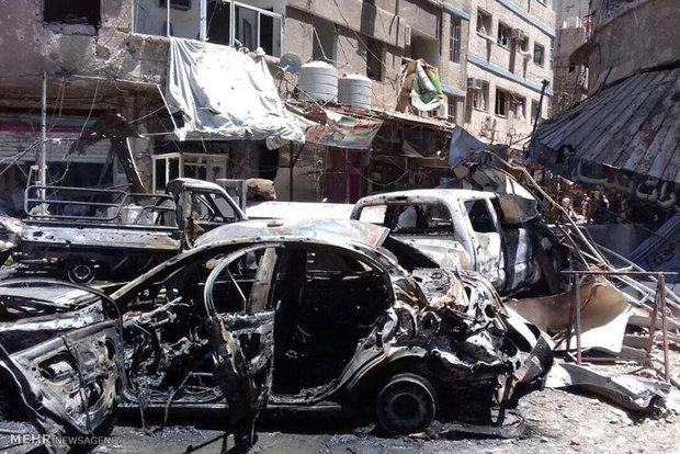 انفجارهای تروریستی در دمشق