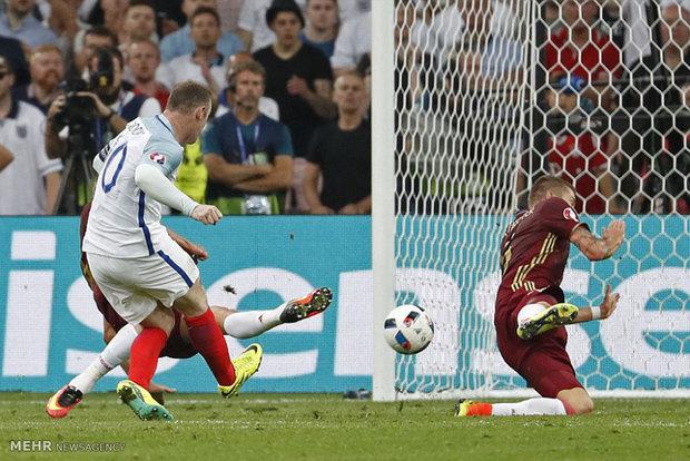 مباراة انجلترا وروسيا في كأس اوروبا