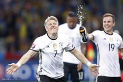 مشاهد من مباراة المانيا واوكرانيا في كأس اوروبا