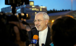 Zarif arrives in Oslo