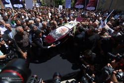 Hamid Sebzivari'nin Cenaze Töreni