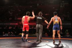 Iran's wrestlers trounce Indian team 8-0 in LA