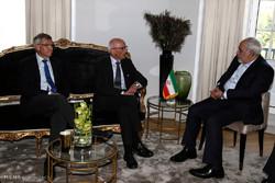 ایرانی وزیر خارجہ کی ناروے کے دو سابق وزراء اعظم سے ملاقات