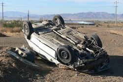 یک کشته و ۲ مجروح در اثر واژگونی ۲۰۶ در اردکان