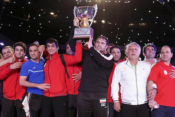 ايران تفوز ببطولة العالم للمصارعة الحرة