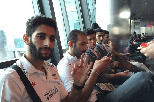 National volleyball team off to Rio