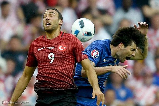 دیدار تیم های ترکیه و کرواسی