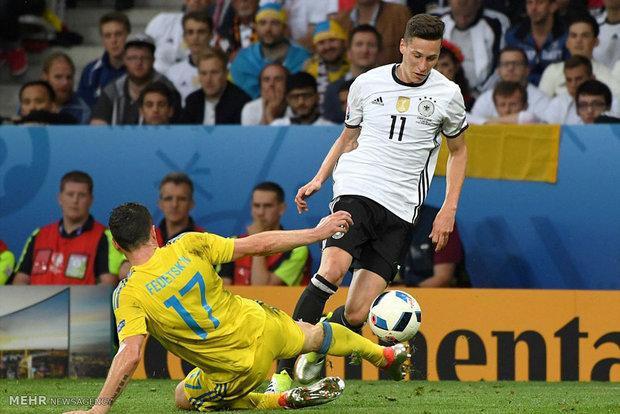 مباراة المانيا واوكرانيا في كأس اوروبا