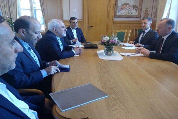 İran ve Norveç Dışişleri Bakanları Buluştu