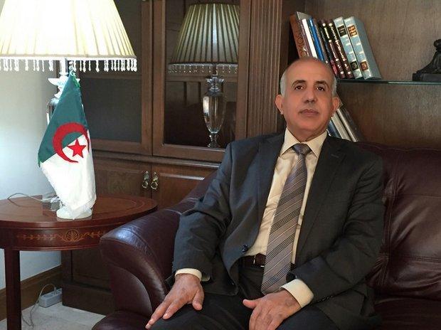 السفير الجزائري  : الباب مفتوح امام التجار الایرانيين للإستثمار في الجزائر